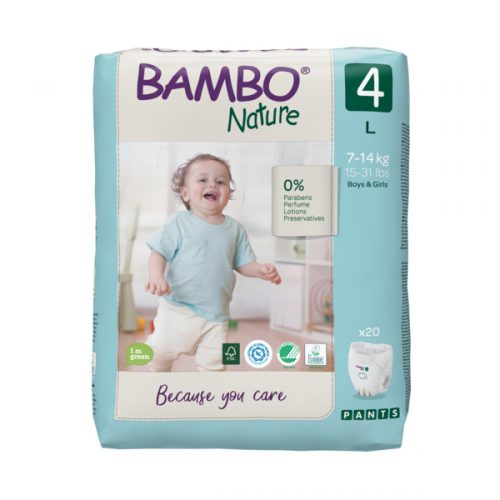 bambo natural eco friendly gacice size 4