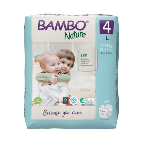 bambo nature eco friendly size 4
