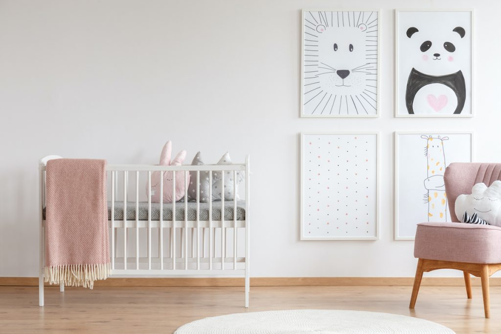 kako urediti djeciju sobu skandinavski stil